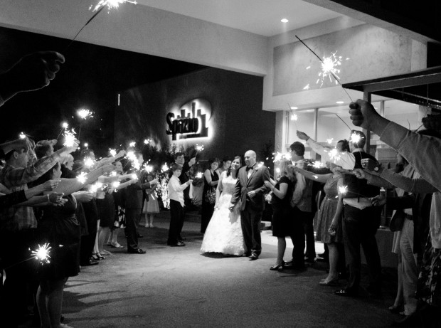 Black and White Wedding031