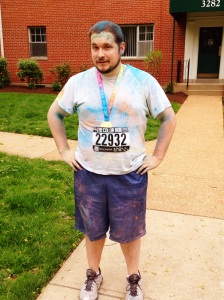 2015 . color run J