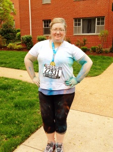 2015 . color run S